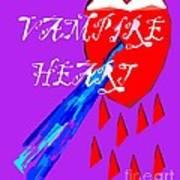 Vampire Heart Art Print