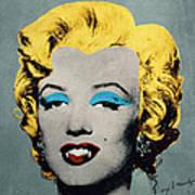 Vampire Marilyn Art Print