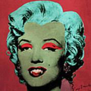 Vampire Marilyn Variant 1 Art Print