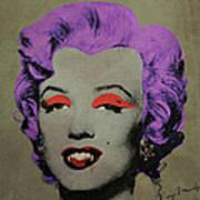 Vampire Marilyn Variant 3 Art Print
