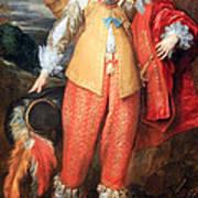 Van Dyck's Henri II De Lorraine Art Print