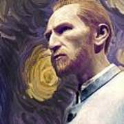Van Gogh Portrait Art Print