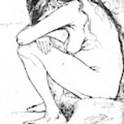 Sorrow, 1882 Art Print