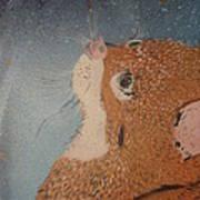 Van Goghs Cat Art Print