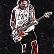 Van Halen-93-mike-gc23-fractal Art Print