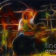 Van Halen-alex-93-gc5-fractal Art Print