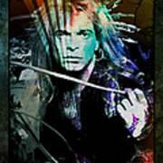 Van Halen - David Lee Roth Art Print