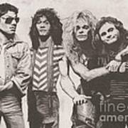 Van Halen Art Print