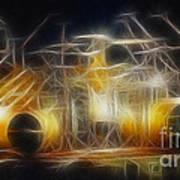 Van Halen-ou812-alex-f24a-fractal Art Print