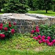Van Hoosen Jones Stoney Creek Entrance Stone Art Print