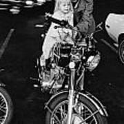 Van Nuys Boulevard 092 15a Uneasy Rider Art Print
