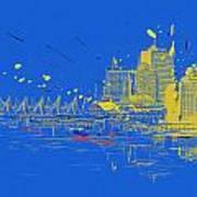 Vancouver Art 005 Art Print