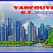 Vancouver Bc Iv Art Print