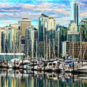 Vancouver City Art Print