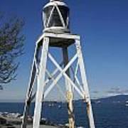 Vancouver Lighthouse Art Print