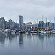 Vancouver Panorama Art Print