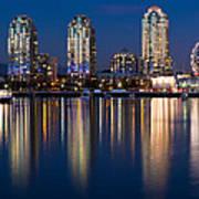 Vancouver Postcard Art Print