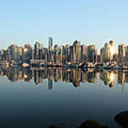 Vancouver Reflected Art Print