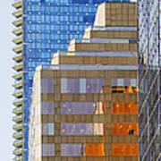 Vancouver Reflections No 1 Art Print