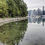 Vancouver Reflections Art Print