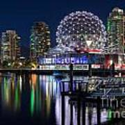 Vancouver Telus World Of Science - By Sabine Edrissi Art Print