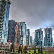 Vancouver Waterfront Art Print