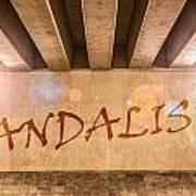 Vandalism Art Print