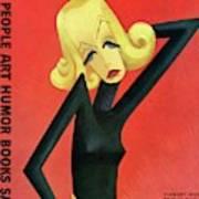 Vanity Fair Cover Featuring Greta Garbo Art Print by Miguel Covarrubias