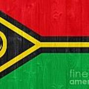 Vanuatu Flag Art Print