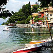 Varenna.lake Como Art Print