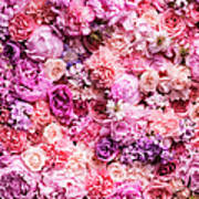 Various Cut Flowers, Detail Art Print