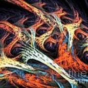 Vascular Plant Art Print