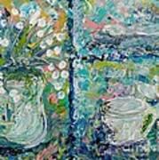 Vase And Demitasse Art Print
