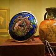 Vase At Delaware Art  Art Print