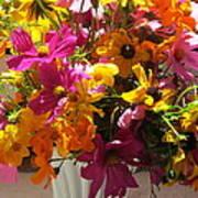 Vase Flowers Art Print
