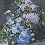 Vase Of Flowers - Reproduction Art Print