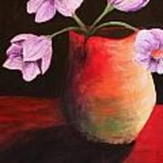 Vase Art Print by Whitney Nanamkin