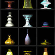 Vases... Art Print