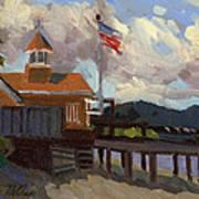 Vashon Island 4th Of July Art Print