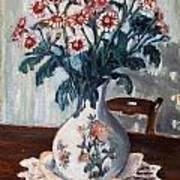 Vaso Con Fiori Art Print by Niki Mastromonaco