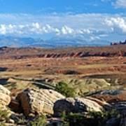 Vast Desert Landscape Art Print