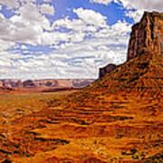 Vast Desert - Monument Valley - Arizona Art Print
