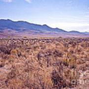 Vast Desolate And Silent - Lyon Nevada Art Print