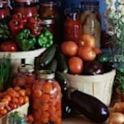 Vegetables For Pickling Art Print