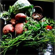 Vegetables. Still Life Art Print