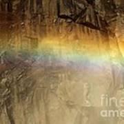 Veiled By A Rainbow Art Print