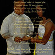 Vein Of Love Poem Art Print