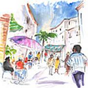 Velez Rubio Market 01 Art Print