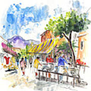 Velez Rubio Market 02 Art Print