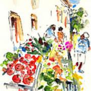 Velez Rubio Market 03 Art Print